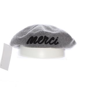August Hat Company Merci Beret Gray
